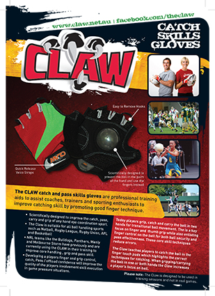 THE CLAW FLYER Front